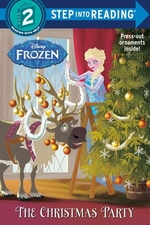 Book cover of CHRISTMAS PARTY DISNEY FROZEN