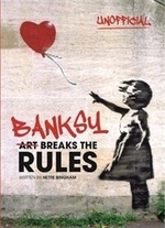 Book cover of BANKSY - ART BREAKS THE RULES