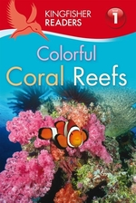 Book cover of COLORFUL CORAL REEFS