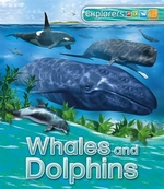 Book cover of EXPLORERS - WHALES & DOLPHINS