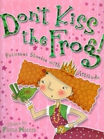 Book cover of DON'T KISS THE FROG