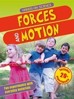 Book cover of HANDS-ON SCIENCE FORCES & MOTION