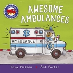 Book cover of AWESOME AMBULANCES
