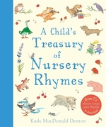 Book cover of CHILD'S TREASURY OF NURSERY RHYMES