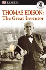 Book cover of THOMAS EDISON - THE GREAT INVENTOR