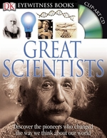 Book cover of EYEWITNESS GREAT SCIENTISTS