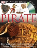 Book cover of EYEWITNESS PIRATE