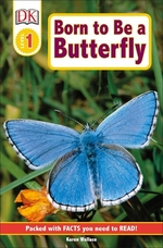 Book cover of BORN TO BE A BUTTERFLY