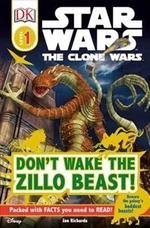 Book cover of CLONE WARS - DON'T WAKE THE ZILO BEAST