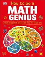 Book cover of HT BE A MATH GENIUS