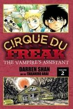 Book cover of CIRQUE DU FREAK MANGA 02