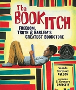 Book cover of BOOK ITCH FREEDOM TRUTH & HARLEM'S GREA