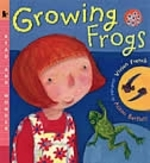 Book cover of GROWING FROGS