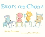 Book cover of BEARS ON CHAIRS
