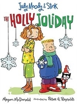 Book cover of JUDY MOODY & STINK HOLLY JOLIDAY