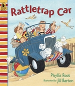 Book cover of RATTLETRAP CAR