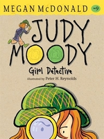 Book cover of JUDY MOODY GIRL DETECTIVE