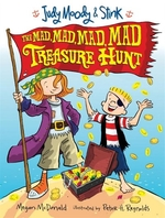 Book cover of JUDY MOODY & STINK MAD MAD MAD TREASURE