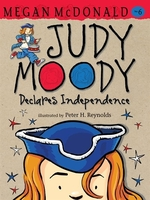 Book cover of JUDY MOODY DECLARES INDEPENDENCE