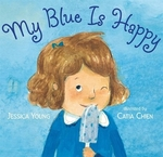 Book cover of MY BLUE IS HAPPY