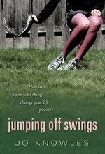 Book cover of JUMPING OFF SWINGS