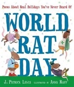 Book cover of WORLD RAT DAY - POEMS ABOUT REAL HOLIDAY
