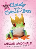 Book cover of SISTERS CLUB 03 CLOUDY WITH A CHANCE OF