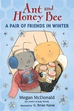 Book cover of ANT & HONEY BEE - A PAIR OF FRIENDS IN