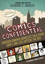 Book cover of COMICS CONFIDENTIAL 13 GRAPHIC NOVELISTS