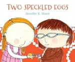 Book cover of 2 SPECKLED EGGS