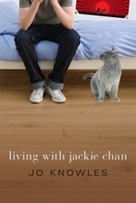 Book cover of LIVING WITH JACKIE CHAN
