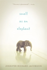 Book cover of SMALL AS AN ELEPHANT