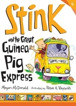 Book cover of STINK & THE GREAT GUINEA PIG EXPRESS