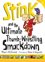 Book cover of STINK & THE ULTIMATE THUMB-WRESTLING SMA