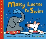 Book cover of MAISY LEARNS TO SWIM