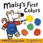 Book cover of MAISY'S 1ST COLORS