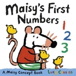 Book cover of MAISY'S 1ST NUMBERS