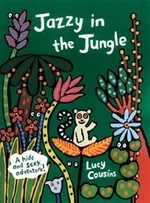 Book cover of JAZZY IN THE JUNGLE
