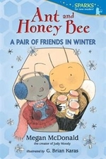 Book cover of ANT & HONEY BEE A PAIR OF FRIENDS IN W