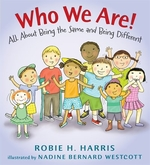 Book cover of WHO WE ARE BEING THE SAME & DIFFERENT