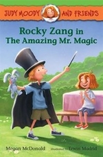 Book cover of ROCKY ZANG IN THE AMAZING MR MAGIC