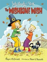Book cover of JUDY MOODY & STINK THE WISHBONE WISH