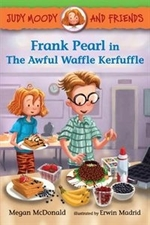 Book cover of FRANK PEARL IN THE AWFUL WAFFLE KERFUFFL