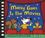 Book cover of MAISY GOES TO THE MOVIES