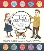 Book cover of TINY CREATURES THE WORLD OF MICROBES