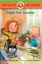 Book cover of TRIPLE PET TROUBLE