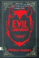Book cover of EVIL LIBRARIAN