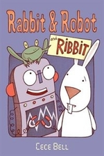 Book cover of RABBIT & ROBOT & RIBBIT