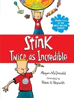 Book cover of STINK TWICE AS INCREDIBLE