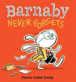 Book cover of BARNABY NEVER FORGETS